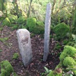 Hand Carved Standing Stone - 3