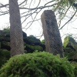 Hand Carved Standing Stone - 1